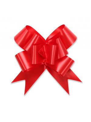 "Butterfly Pull Bow 2"" Red"