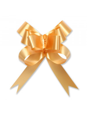 "Butterfly Pull Bow 2"" Gold"