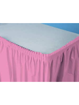 Tableskirt 14ft Candy Pink