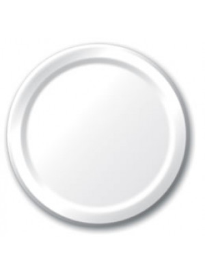 "7"" Paper Plate White"