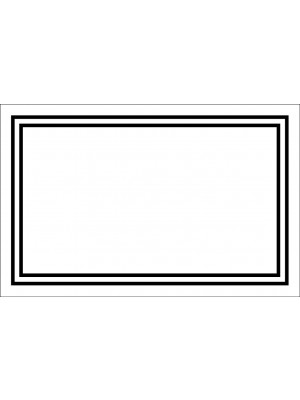 Blank Panel White Enc Card