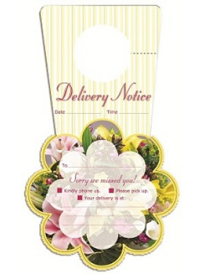 Tell Tag Delivery Notice