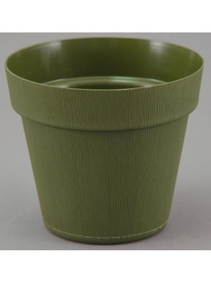 "Pot Cover 7 1/4"" Op Green"