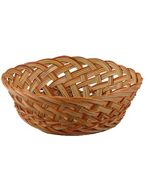 "Basket Midrib 10"" Open Natural"