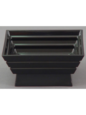 "5"" Square Planter Blk"
