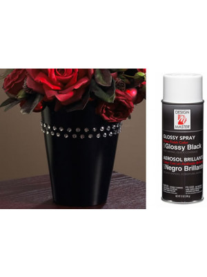 Black Glossy 12oz Spray