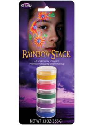 Makeup Rainbow Stack 5 Colors