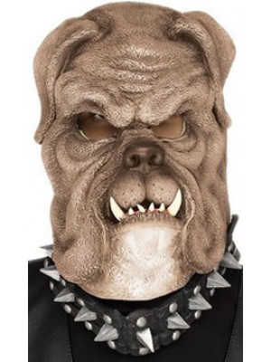 Mask Brown Bull Dog Adult