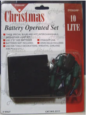 Battery Set 10Lt Multi Grn Cor