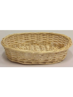 "Willow Tray Oval 16"" Nat"
