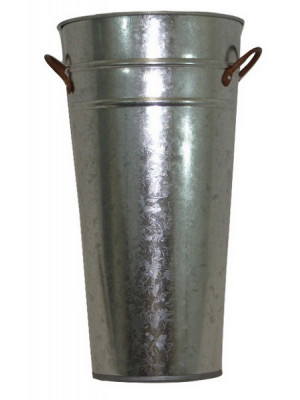 "Galvanized 13"" French Bucket"