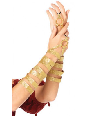 Arm Wraps Gold