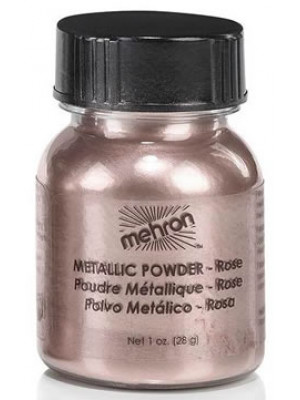 Metallic Powder 0.5oz Rose