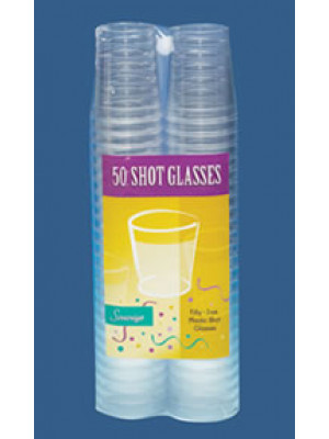 2oz Shot Glass Clear