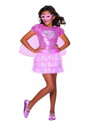 Pink Supergirl Tutu Child Medi