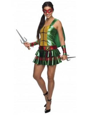 TMNT Raphael Dress Medium
