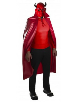Devil Mask & Cape Set