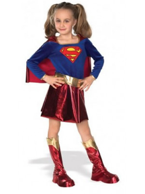Supergirl Dlx Child Lge