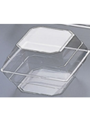 Flower Box Large Orchid Clear