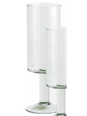 "Cylinder Footed 18"" Hi Clear"