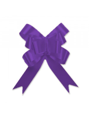 "Butterfly Pull Bow 2"" Purple"
