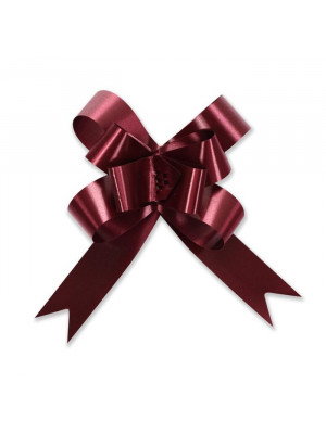"Butterfly Pull Bow 2"" Burgundy"