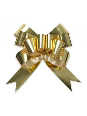 "Butterfly Pull Bow 6.75"" Gold"