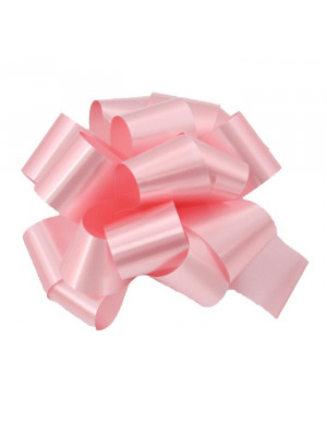 """Pre-Notched Bow 6"""" Pink"""