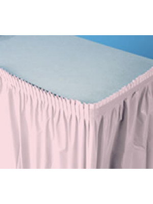 Tableskirt 14ft Classic Pink