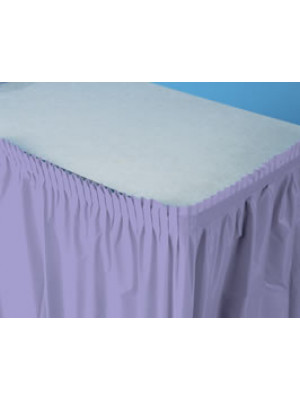 Tableskirt 14ft Lus Lavender