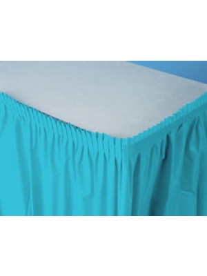 Tableskirt 14ft Berm Blue