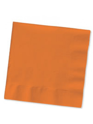 Bev Napkin Sunkiss Orange