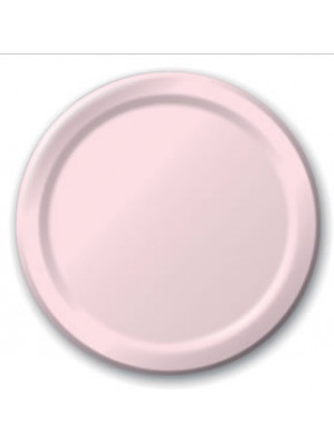 """7"""" Paper Plate Classic Pink"""