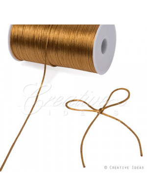 Rat Tail Cording 200y Ant Gold