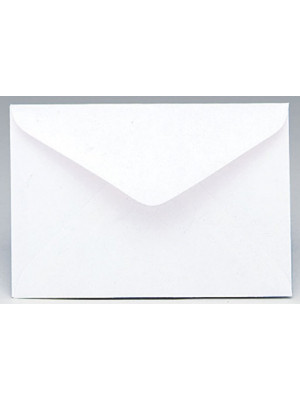 Envelope #80 White