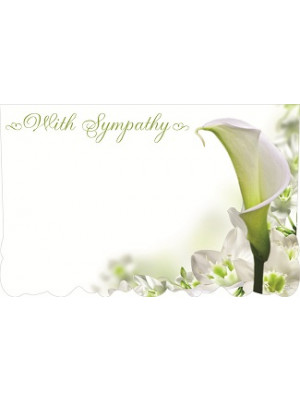 Enc Card With Sympathy