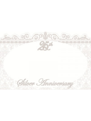 Enc Card 25th Silver Anniversa