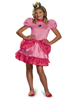 Princess Peach Tween M(7-8)