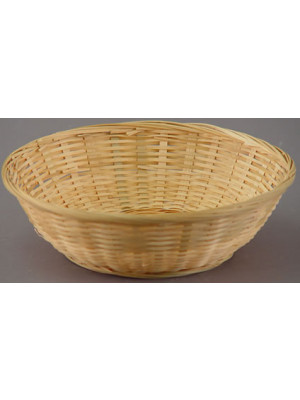 "9"" Bamboo Basket Nat No Liner"