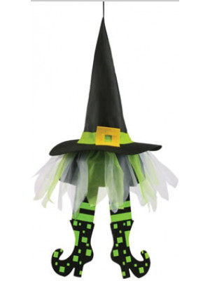 "24"" Floating Witch Hat w/Legs"