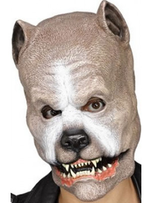 Mask Brown Pit Bull Adult