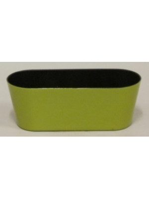 "10.5"" Oval Pot Lime"