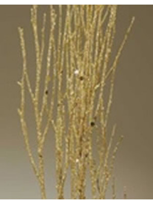 Birch Branch Sequin Gold Spkle