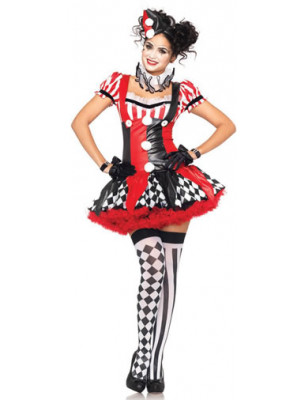 Harlequin Clown 3PC Small