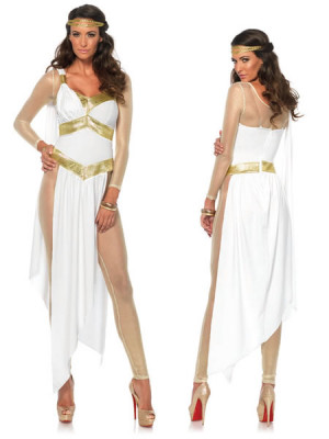 3PC Greek Goodess Gold Medium