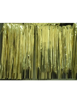 Curtain 3'x8' 1ply Gold