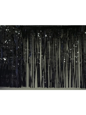 Curtain 3'x8' 1ply Black