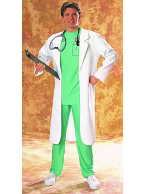 Lab Coat White Adult Standard