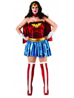 Wonder Woman Adult Plus Size