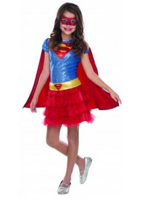 Supergirl Tutu Child Medium